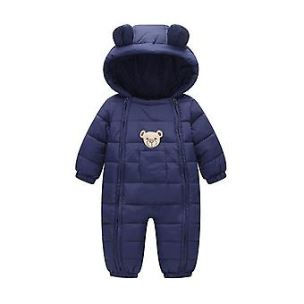 Newborn Snowsuit Baby Spring Winter Coat Warm Outerwear Kombinezon, Kombinezon dla dzieci