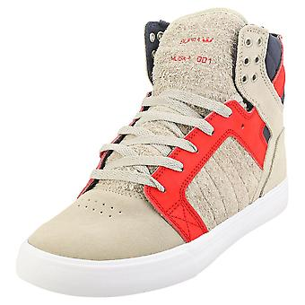 Supra Skytop Mens Fashion Trainers in Steen