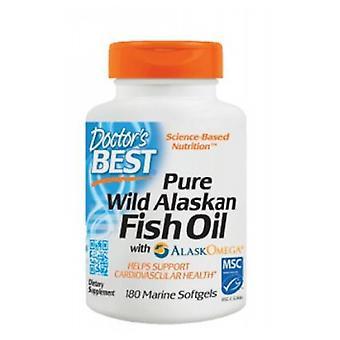 Doctors Best Pure Wild Alaskan Fish Oil, 180 Softgels