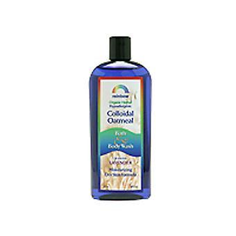 Rainbow Research Body Wash Colloidal Oatmeal, Lavender 12 Oz