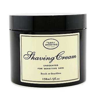 Shaving cream unscented (for sensitive skin) 100615 150ml/5oz