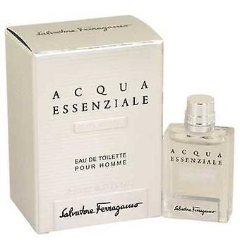 Acqua Essenziale Colonia By Salvatore Ferragamo Mini Edt .17 Oz (men) V728-538168