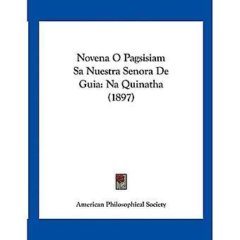 Novena O Pagsisiam sa Nuestra Senora de Guia: na Quinatha (1897)
