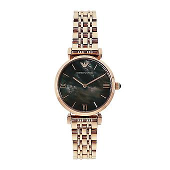 Armani Ar11145 Rose Gold & Mother Of Pearl Ladies Watch