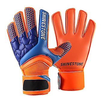 Professional Soccer Doelman / sterke Finger Protection Football Match Handschoenen