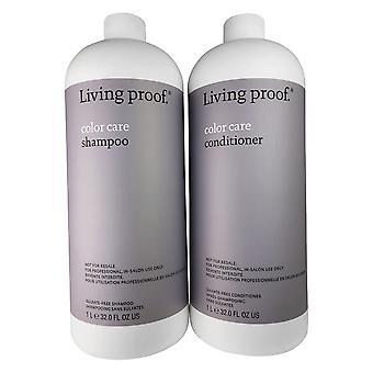 Living proof kleurverzorging shampoo & conditioner duo 32 oz