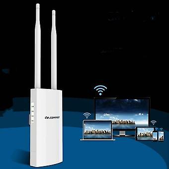 EW71 300Mbps Comfast Utomhus Högeffekts trådlös täckning AP-router(UK Plug)