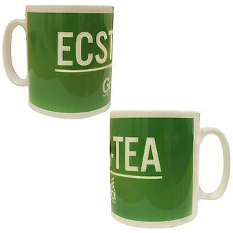 Gio Goi Novelty Mug Funny Gift Ecsta-Tea Cup Green GD9 ECSTAMUG A55E