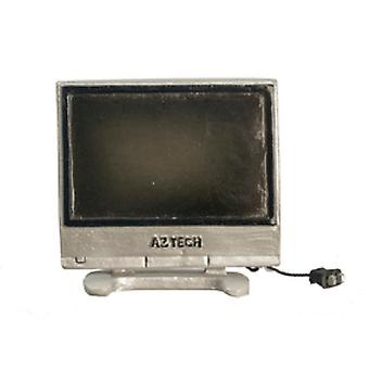 Dolls House Modern Wide Screen Tv Television 1:24 Half Inch Scale