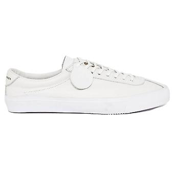 Pretty Green Leather Trainers - White