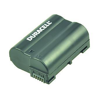 Duracell premium analog nikon en-el15 battery d500 d600 d7000 d7100 7.4v 1400mah