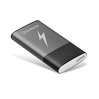 Tcsunbow portable ssd 500gb external solid state drive 500gb with type c and usb 3.0 interface high