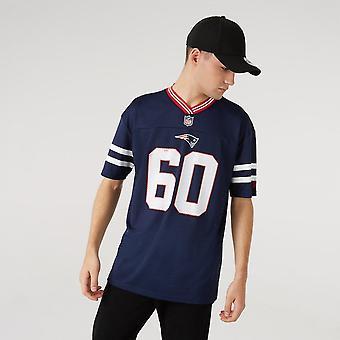 New Era Nfl New England Patriots Oversized Jersey T-shirt