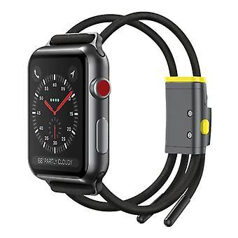 Baseus Sport Band for iWatch 38mm / 40mm - Cotton Bracelet Wristband Watchband Black