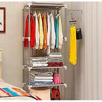 Simple Metal Iron Coat Rack / Floor Standing For Clothes Hanging/storage