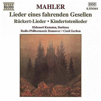 G. Mahler - Mahler: Orchestral Lieder [CD] USA import