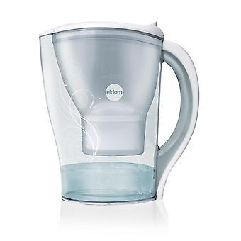 Vattenfilter kanna Eldom kapacitet. 2,5 liter