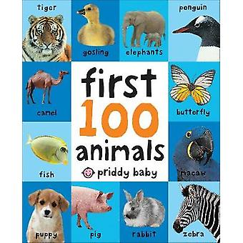 First 100 Animals UK EDITION First 100 Soft to Touch Board Books