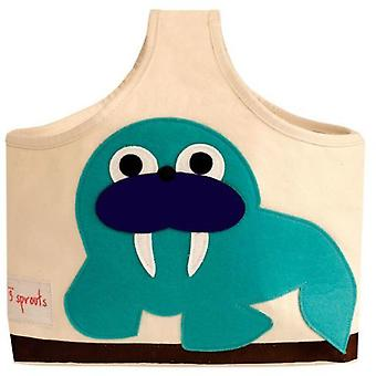3 Sprouts Bag with Handle Walrus
