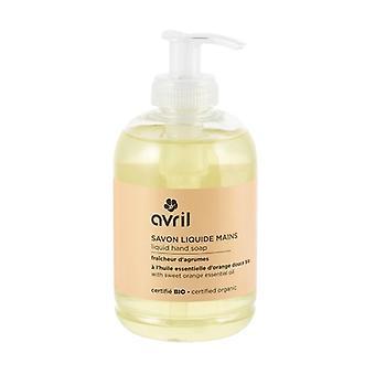 Citrus Freshness Liquid Hand Soap - Certified Organic 300 ml