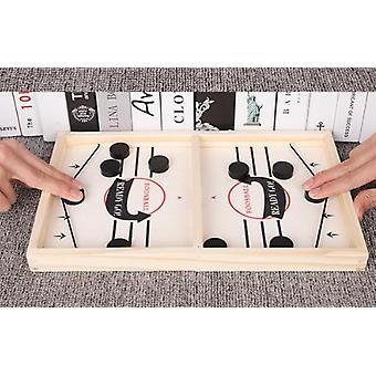 Table Hockey Paced Sling Puck Board Game