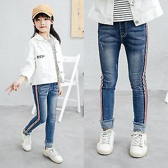 Kids Gradient Ultra Big Elastic Skinny Pants Trousers