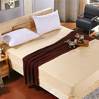100% Polyester Super Soft Solid Fitted Sheet Set, Mattress Cover