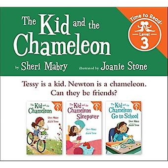 The Kid and the Chameleon Set 1 the Kid and the Chameleon Time to Read Level 3 by Sheri Mabry & Illustrated by Joanie Stone