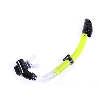 Mimigo Dry Top Snorkel Tube Comfortable Mouthpiece One-way Purge Valve For Pool Open Water Scuba Lap Swimming Swimmer Training Diving Snorkeling