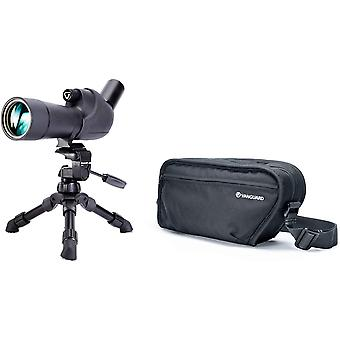 Vesta spotting scope kits include spotting scope, tabletop tripod, and padded carrying bag ps03495