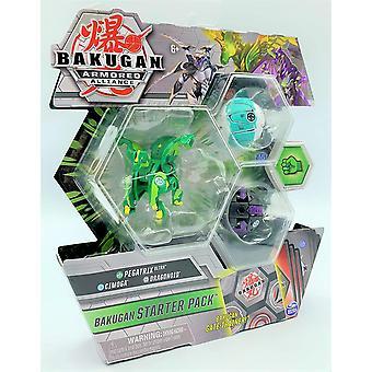 Bakugan Armored Alliance Starter Pack Pegatrix Ulra, Cimoga and Dragonoid