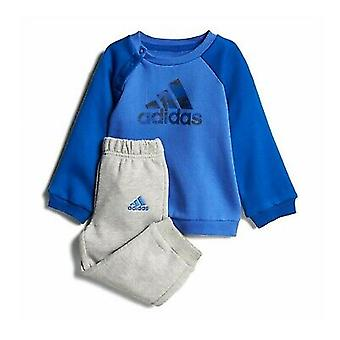 Adidas Infant Boys Logo Träningsoverall Full Set CF7376