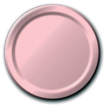 Plt7 12/8Ct Classic Pink Plates