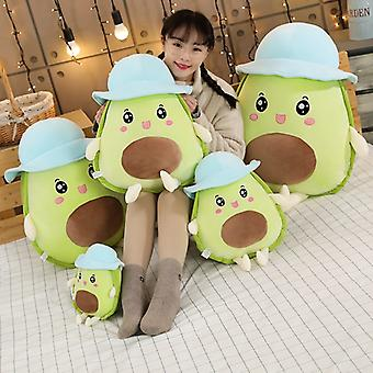 Lovely Fruit Avocado Body Pillow Squishmallow Back Support Cushions Decorative Comfortable Nap Pillow For Office For Home Decor