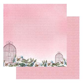 Ultimate Crafts - Magnolia Lane 12x12 Patterned Paper - Sweet Music Packs of 10 Sheets