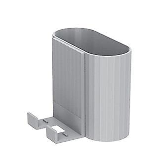 Veggmontert arrangør oppbevaringsboks fjernkontroll klimaanleggstativholder