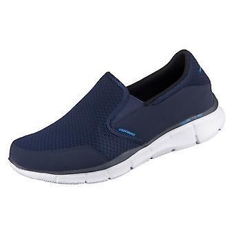 Skechers אקולייזר מתמיד 51361NVY אוניברסלי כל השנה נעלי גברים