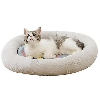 Donut Cat And Dog Cushion Bed Pet Bed For Cats Super Soft Durable