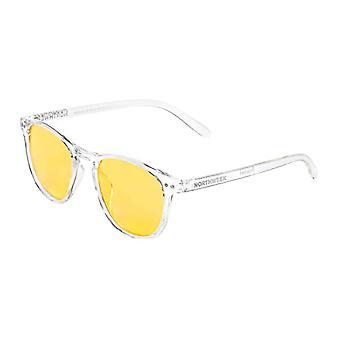 Northweek Wall Soho Sunglasses, Yellow (Transparente Yellow), 140.0 Unisex-Adult