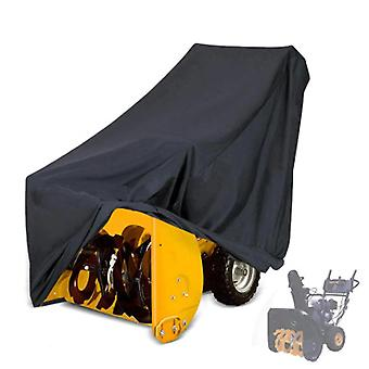 Outdoor Waterproof Dust proof Sun Shade Snow Thrower Blower Cover Protector(109*81*89/127cm)