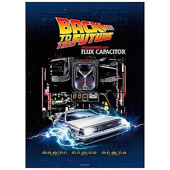 Tilbake til fremtiden - Flux Kondensator - puslespill 1000pcs