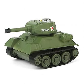 Super Mini Tiger Rc Tank Model, Efterligne Scale, Fjernbetjening Elektronisk