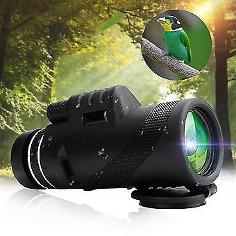 Pre 40x60 Monokulárny vonkajší kempingový ďalekohľad HD Zoom Hiking Night Vision WS30915