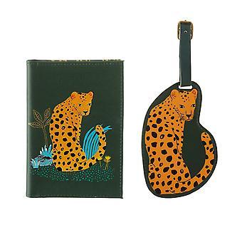 Sass & Belle Leopard Kærlighed Travel Set