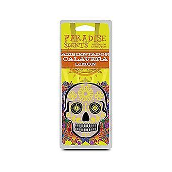 Car Air Freshener Paradise Aromas Lemon Skull