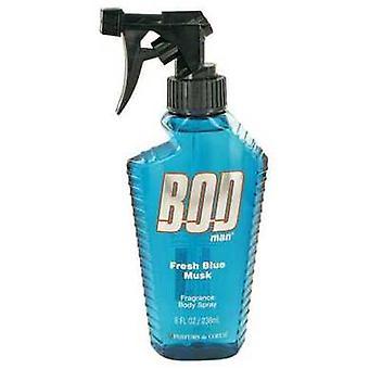 Bod Man Fresh Blue Musk By Parfums De Coeur Body Spray 8 Oz (hommes)