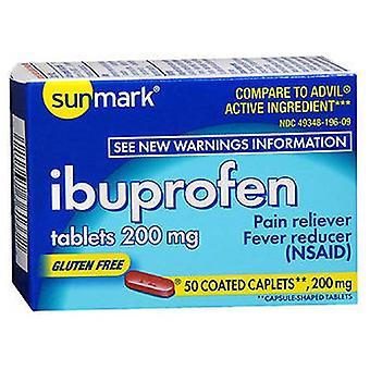 Sunmark Sunmark Ibuprofen, 200 mg, 50 tabs