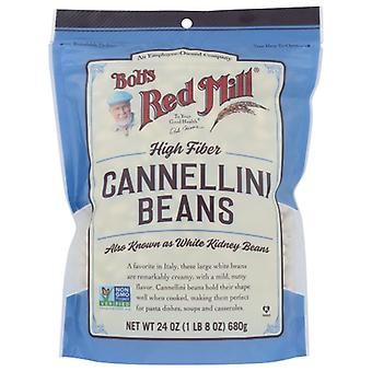 Bobs Red Mill Beans Cannellini, Fall av 4 X 24 Oz