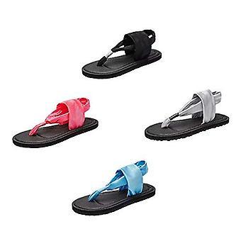 Ensembles de tongs pour femmes rentables 3 paires Sandales de yoga couleurs mixtes Packs cadeaux aléatoires