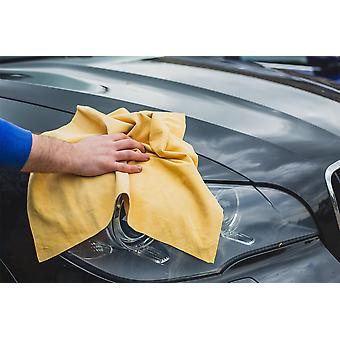 Nordvek Premium Grade A Wash Leather - Chamois Cloth For All Purpose Cleaning & Polishing # 101-100